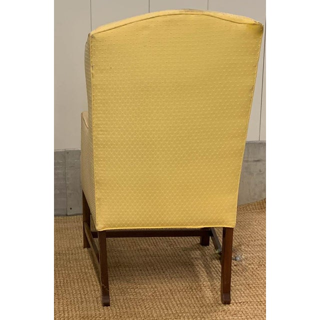 Late 20th Century Pair, Vintage Wingback Chairs For Sale - Image 5 of 9