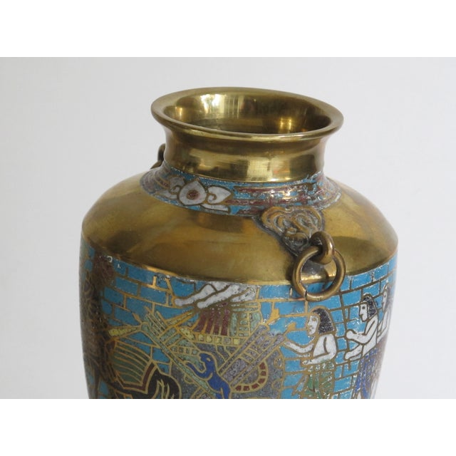 Egyptian Revival Urns - A Pair For Sale - Image 9 of 9