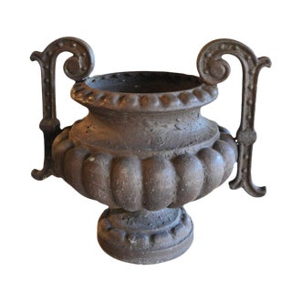 19th Century French Iron Urns