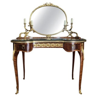 François Linke Mounted Table De Toilette, Late 19th Century For Sale