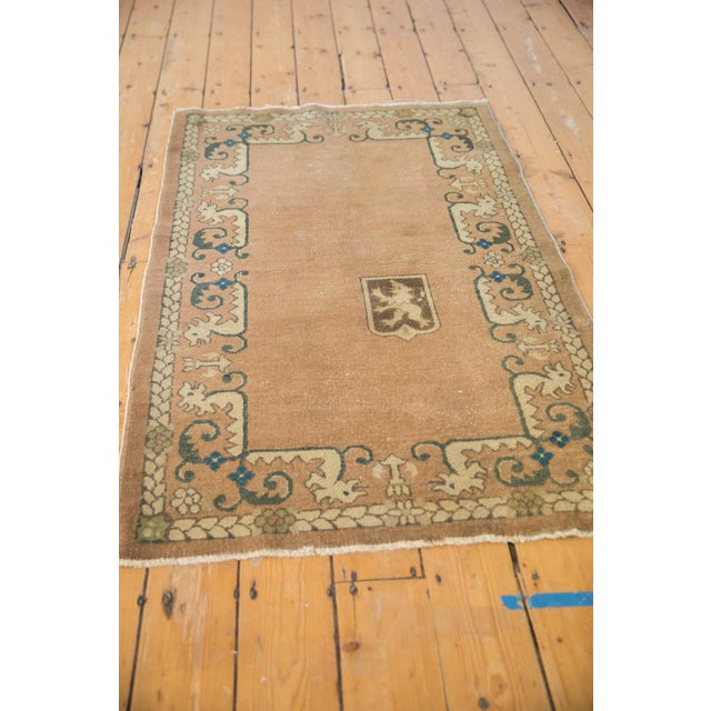 """Vintage Chinese Rug - 3' X 4'10"""" For Sale In New York - Image 6 of 10"""