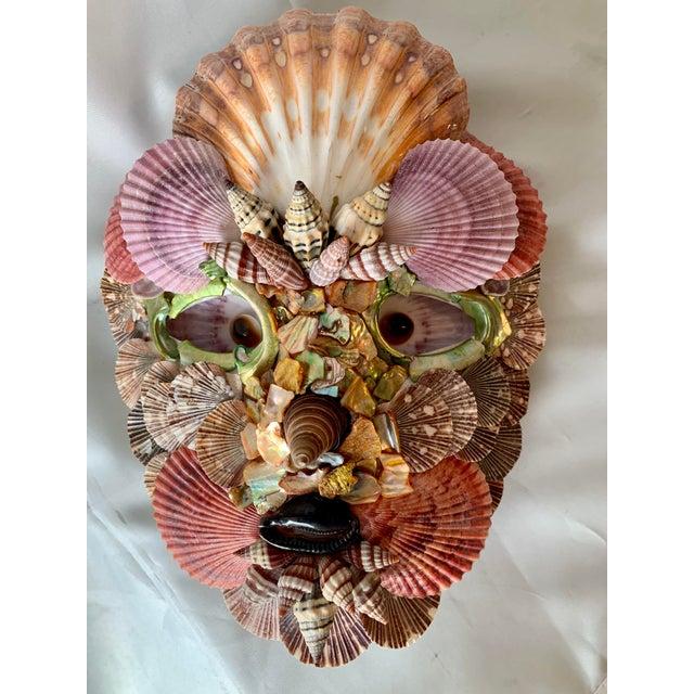 Renaissance Commedia del Artè 'Scaramouche' Shell Mask For Sale - Image 3 of 3