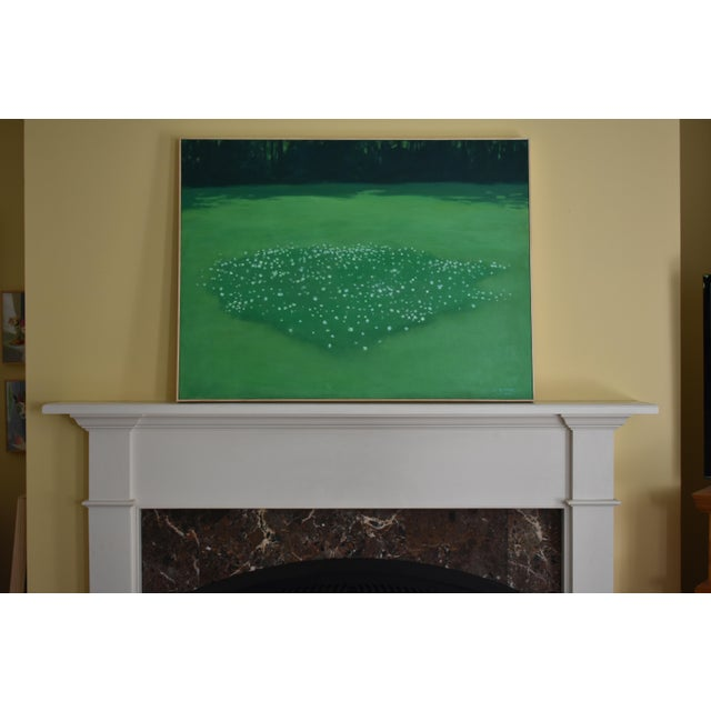 "Stephen Remick ""Patch of Clover"", Contemporary Painting by Stephen Remick For Sale - Image 4 of 11"