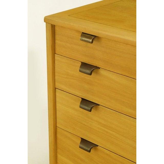 1940s Edward Wormley Glazed Elm Dresser For Drexel For Sale - Image 5 of 7