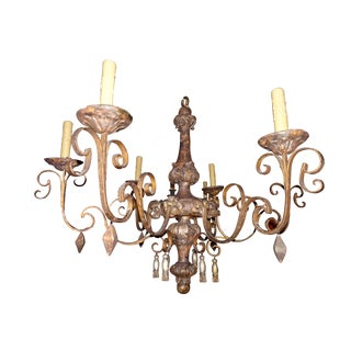 18th Century Italian Tassel Chandelier For Sale