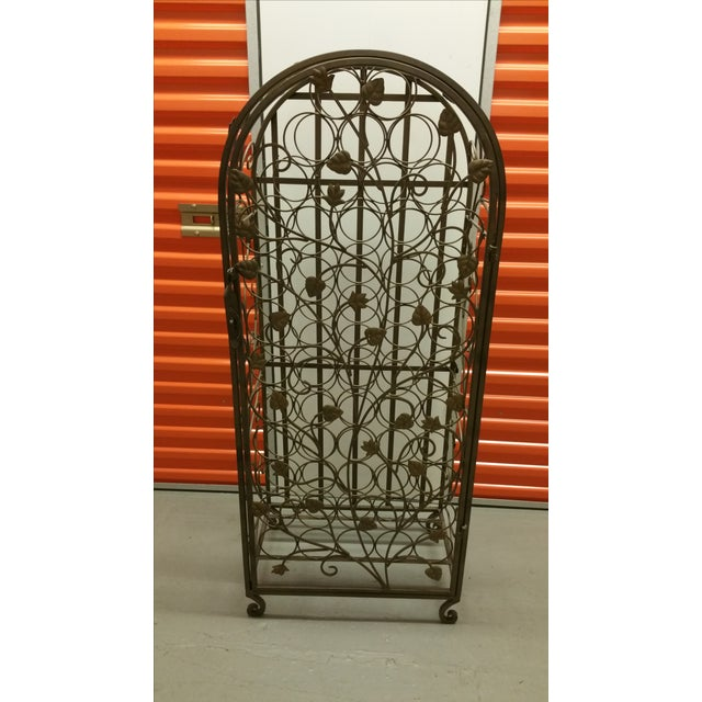 This European Countryside-style wine rack was purchased in the early 2000s and is capable of holding approximately 53...