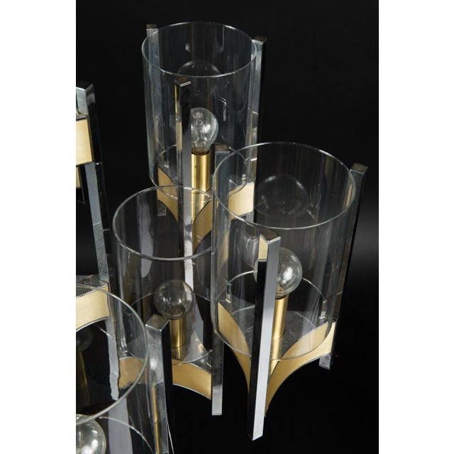 Hurricane Chandelier by Gaetano Sciolari For Sale - Image 10 of 11
