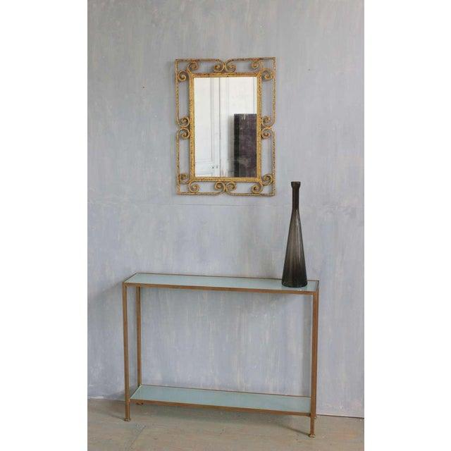Spanish Gilt Metal Mirror - Image 8 of 10