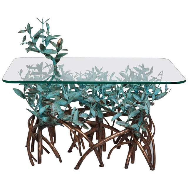 Copper Mangrove Coffee Table by Garland Faulkner For Sale - Image 13 of 13