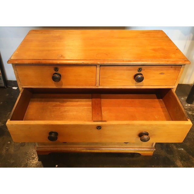 Primitive Welch Pine Dresser - Image 4 of 7