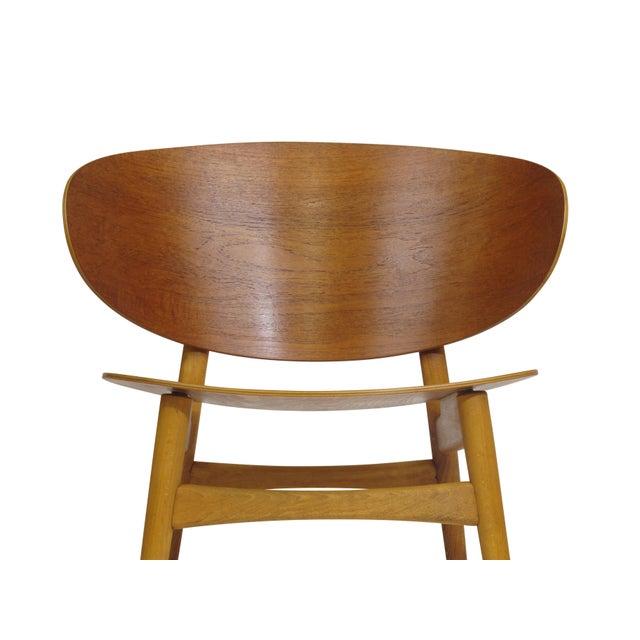 Hans Wegner Teak Shell Chair Fh-1936 For Sale - Image 10 of 12