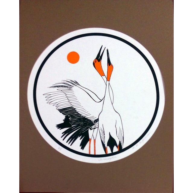 """Set of three limited edition artist proof serigraph signed by artist B.B. La Femme. Each 14"""" x 18"""" print comes matted,..."""