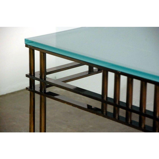 1980s Attila Coffee or Low Centre Table by Jean-Michel Wilmotte For Sale - Image 5 of 8