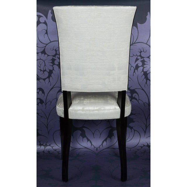 Set of Eight French 1940s Dining Chairs - Image 5 of 9