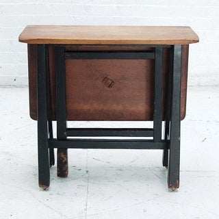 Small 19th Century Folding Side Table Preview