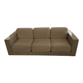 Mid Century Couch Designed by Elena and Massimo Vignelli For Sale