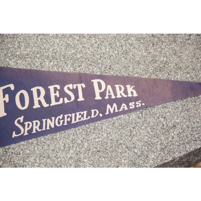 Forest Park Springfield Mass Zoo Felt Flag - Image 3 of 3