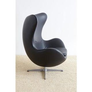 Arne Jacobsen for Fritz Hansen Black Egg Chair Preview