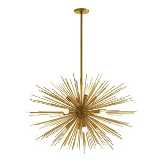 Arteriors Zanadoo Brass Sputnik Chandelier For Sale