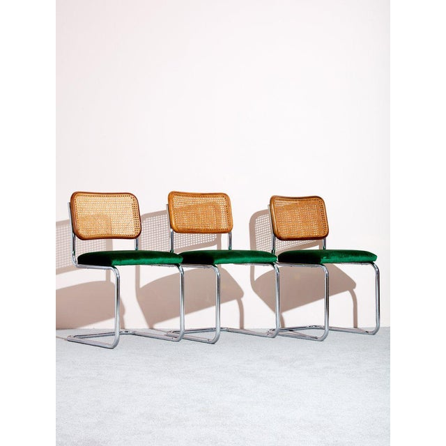 Mid-Century Modern Vintage Cesca Chair by Marcel Breuer For Sale - Image 3 of 4