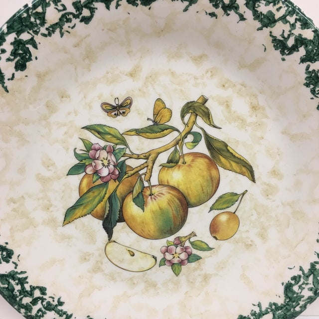 Italian Tre Ci Fruit Plates - Set of 6 For Sale - Image 9 of 11