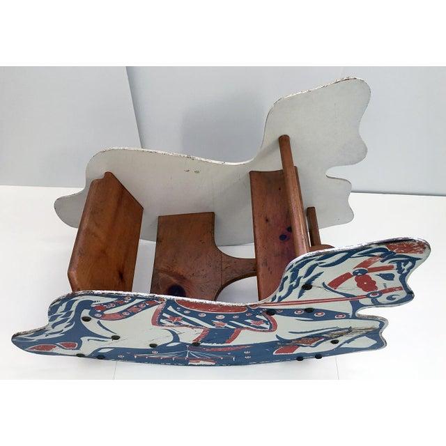 Antique Children's Rocking Horse For Sale - Image 5 of 9
