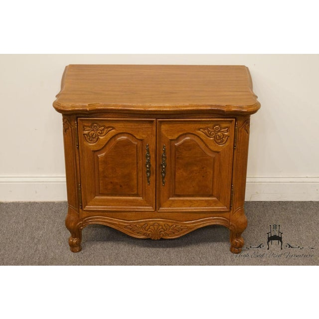 """Lexington Furniture Lexington Furniture Chateau Latour Collection French Country 30"""" Nightstand For Sale - Image 4 of 13"""