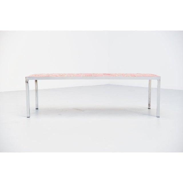 Rogier Vandeweghe Amphora Ceramic Tiles Coffee Table For Sale - Image 6 of 10