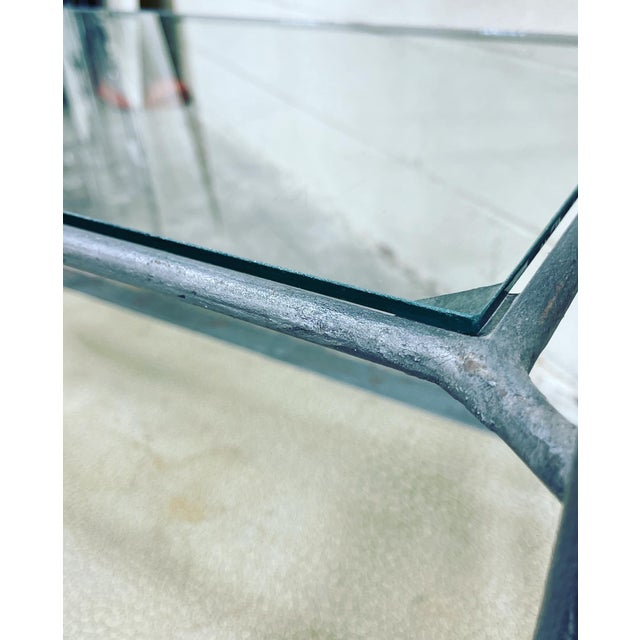 Large Iron and Glass Etageres For Sale In Richmond - Image 6 of 13