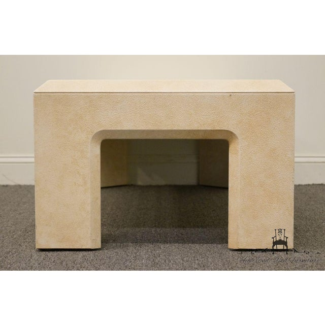 """Late 20th Century Lane Furniture Contemporary Style 54"""" Coffee Table For Sale - Image 5 of 13"""