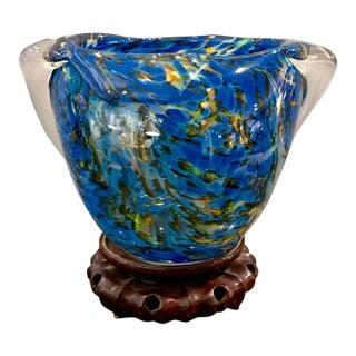 Mid-Century Murano Bowl For Sale