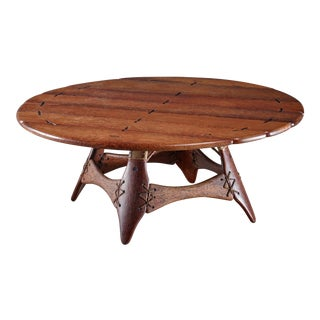 Studio Crafted Palmwood Coffee Table, Australia For Sale