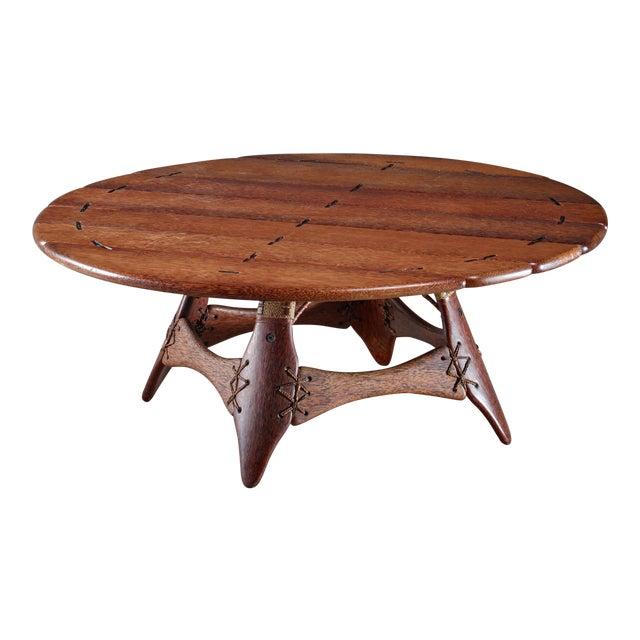 Studio Crafted Palmwood Coffee Table, Australia For Sale