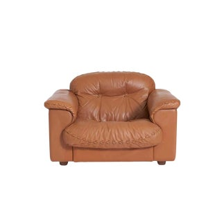 De Sede Leather Ds 101 Lounge Chair For Sale