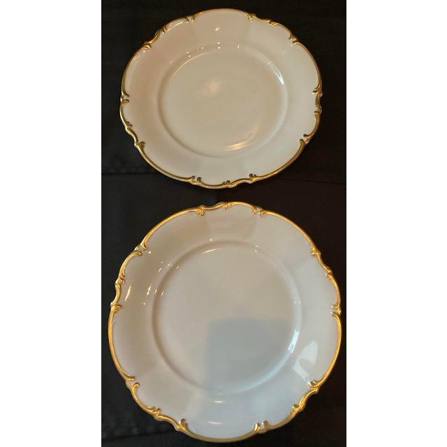 Vintage Hutschenreuther Brighton Dinner Plates - Set of 6 For Sale - Image 10 of 13