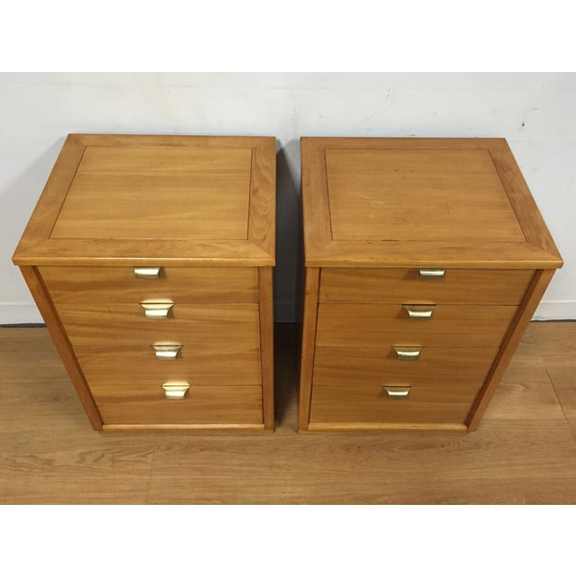 Edward Wormley for Drexel Nightstands - A Pair - Image 3 of 10
