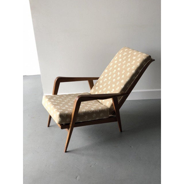Mid-Century Reclining Chairs - A Pair For Sale - Image 4 of 10