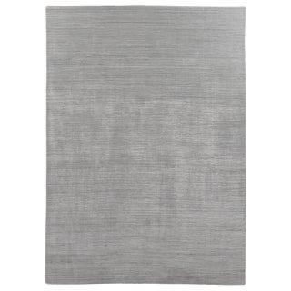 Banbury Handloom Wool Viscose Aqua Rug - 8'x10' For Sale