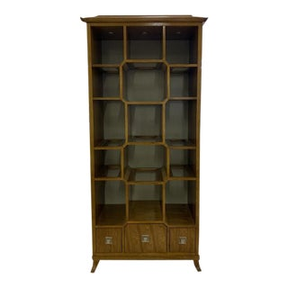 Century Furniture Chin Hua Peking Open Display Cabinet For Sale