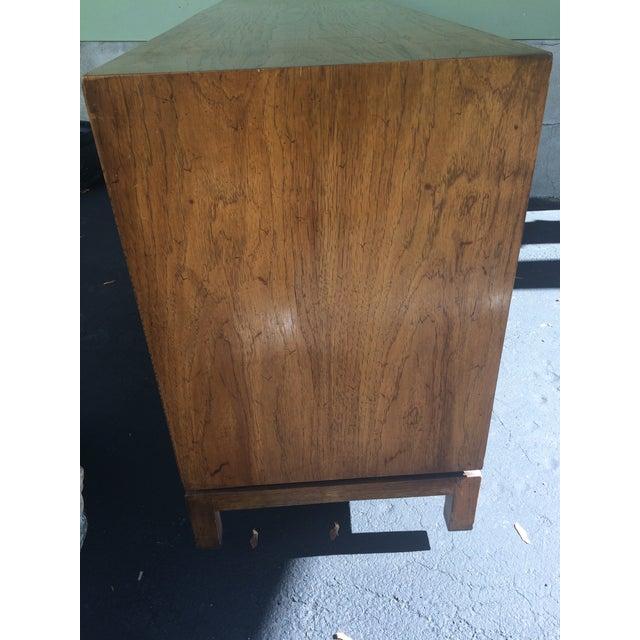 Thomasville Vintage Herringbone Thomasville Credenza/Dresser For Sale - Image 4 of 11