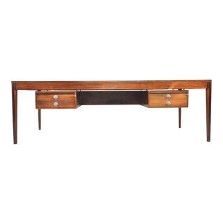 Finn Juhl Diplomat Desk in Rosewood For Sale