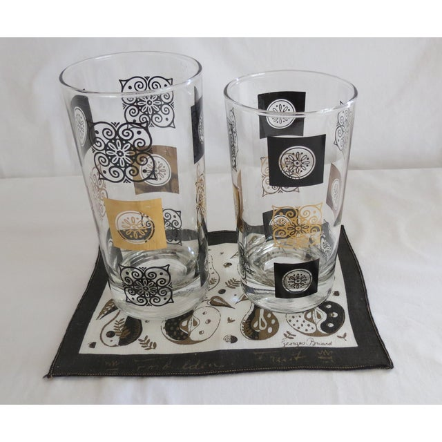 Mid-Century Modern Highball Glasses - Set of 8 - Image 6 of 7