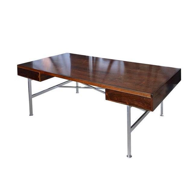 Illum Wikkelsø Rosewood Desk For Sale - Image 10 of 10