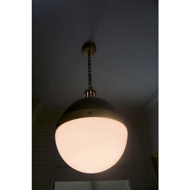 Rejuvenation Globe Pendant Light For Sale In Los Angeles - Image 6 of 6