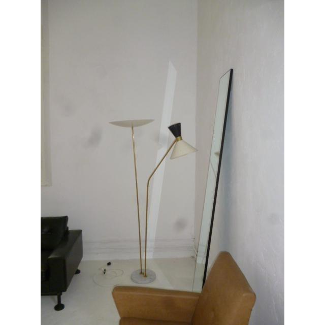 Italian 1960 Stilnovo Style Italian Floor Lamp For Sale - Image 3 of 7