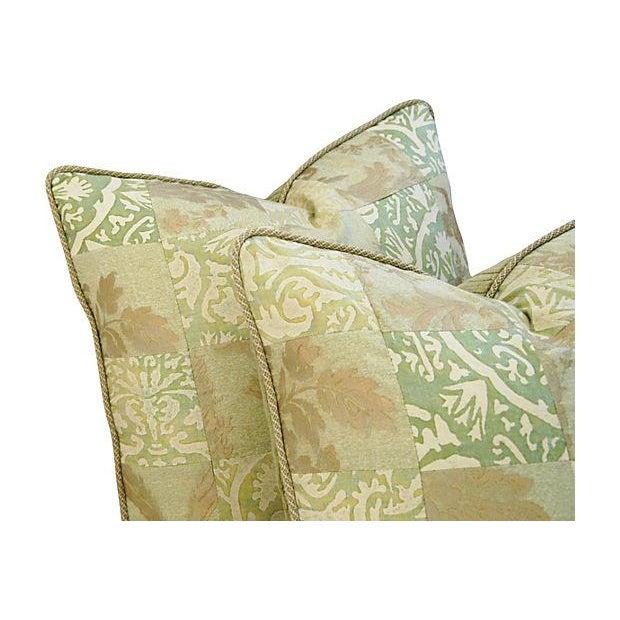 Fortuny Piazetta & Boucher Pillows - A Pair - Image 2 of 6