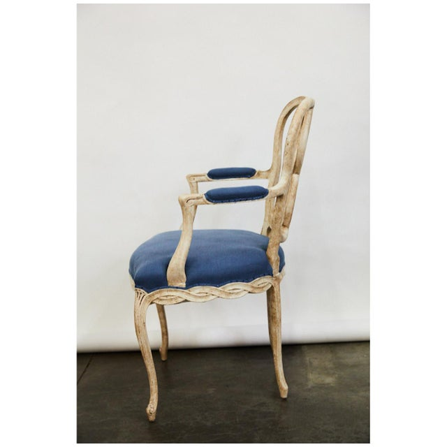 Pair of Bergere Chairs For Sale - Image 4 of 9