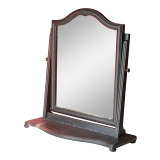 Vintage Shabby Chic Vanity Mirror For Sale