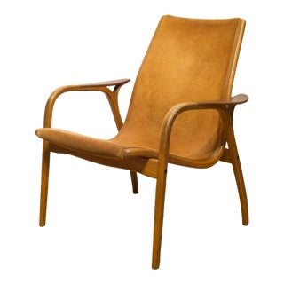 Yngve Ekstrom for Swedese Lamino Lounge Chair C.1960s For Sale