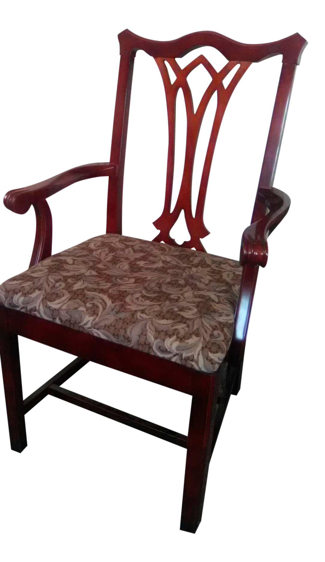 Kimball Wood Arm Chair